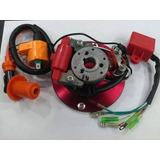 Encendido Completo Competicion 110cc Volantin Rotor Cdi Bobi