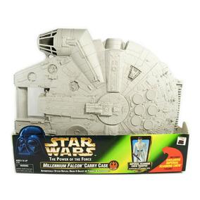 Star Wars Potf - Millenium Falcon - Grande 36x44 Cm
