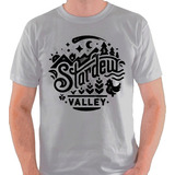 Camiseta Stardew Valley Jogo Game Logo Farm Camisa Blusa