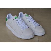 Kp3 Zapatos Adidas Stan Smith Verde Para Damas Y Caballeros