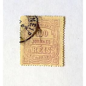 J21 Cifra Horiz Republica 100 Reis Jornais 1890 Rhm Us$ 100