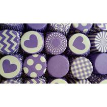 24 Pirotines Violetas