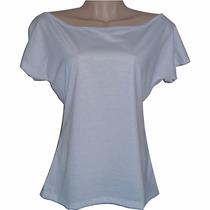 Camisas Gola Canoa ( Para Sublimação ) 100 % Poliéster