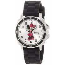 Reloj Minnie Mouse Para Dama, Original Disney-nuevo