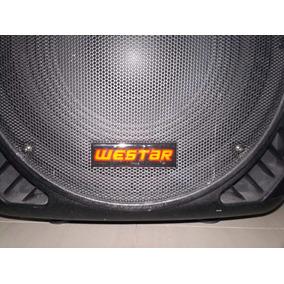 Corneta Amplificada Westar Audio 15 1500watts Bluetooth Usb