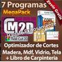 Programa Optimizador Cortes Laminas Tableros Madera Mdf Tela
