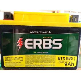 Bateria Moto Erbs Etx 9 Ah - Cbr600 Shadow Vt600 Gsx600/750