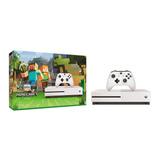 Consola Xbox One S 500 Gb Blanco + Minecraft