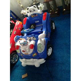 Carro Electrico De Niños Bateria Recargable Y Mp3