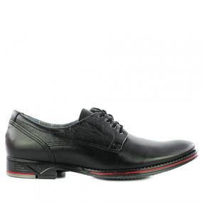 Sapato Social Masculino Pegada 23604-01 Em Couro - Amortech