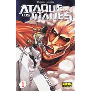 Shingeki No Kyojin Attack On Titan Ataque A Los Titanes # 1