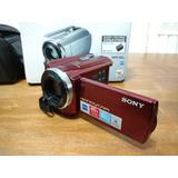 Cámara De Video Sony Dcr-sr68 Sin Disco Con Accesorios