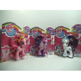 Lote Pinkie Pie Rarity Y Twilight Sparkle Mi Pequeño Pony