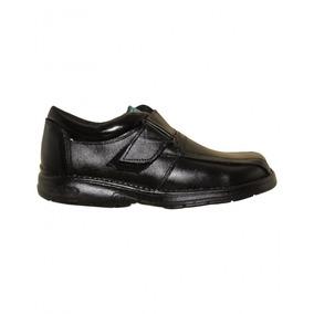 Zapatos Escolares Niño Piel Negro Marca Cesarin