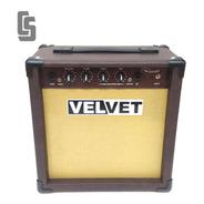 Amplificador De 30w Guitarra Acústica Teclado Y Voces Velvet