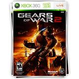 Gears Of War 2 Juego Digital Xbox 360 Original   Bitshop