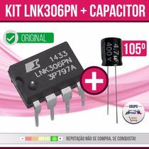Kit Lnk306pn + Capacitor 4,7uf X 400v 105 Graus