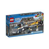 Lego City - Transportador De Dragster - 333 Peças