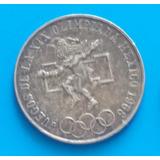 Mexico 25 Pesos 1968 Plata Olimpiadas Mexico