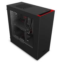 Gabinete Gamer Nzxt S340 Negro Rojo Usb 3.0 Fan 120 X 2