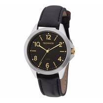 Relógio Technos Feminino 2035mel/0p Couro Lançamento
