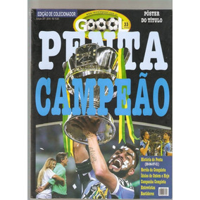 Revista Goool Grêmio Penta Campeão Copa Do Brasil + Poster