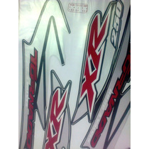 Adesivo Jogo Tornado Xr250 2005 Preta Completo