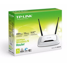 Router Tplink Tl Wr-841n 2 Antenas Nuevos