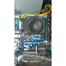 Placa Mãe Amd Ddr3 Gigabyte + Processador Phenon 2 X6 1090 T