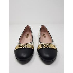 Zapato Ballerina Mujer Moschino* La Segunda Bazar