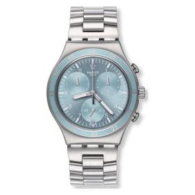 Reloj Clear Water Gris Swatch