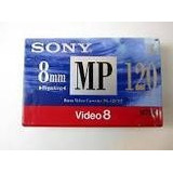 Casssette Sony Mp 8mm P6-120 Minutos