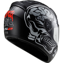 Casco Ls2 Rookie X Ray Ff352 Matt Black Integral Fas Motos