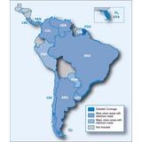 Mapa Para Gps Garmin Argentina, Brasil, Chile , Uruguay