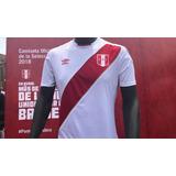 Camiseta De Peru Rusia 2018 Original
