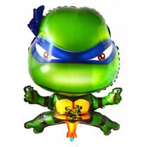 Balão Metalizado Tartaruga Ninja - Kit 06 Balões