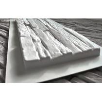 Molde Para Pared De Diseño Estilo Piedra Cultivada, Concreto