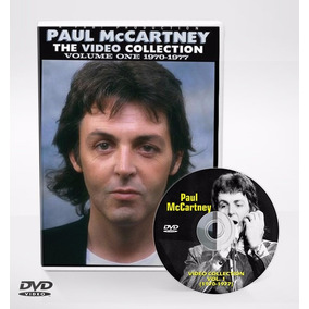 Dvd Paul Mccartney - Video Collection Vol. 1 (1970-1977)