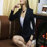 Blazer Para Dama Elegante Original Maxi®
