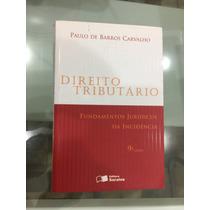 Direito Tributário. Paulo De Barros Carvalho Edição 2012
