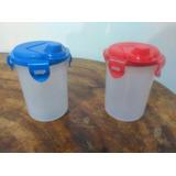 Plástico Vaso Medidor Corto C/tapa T/ Ter