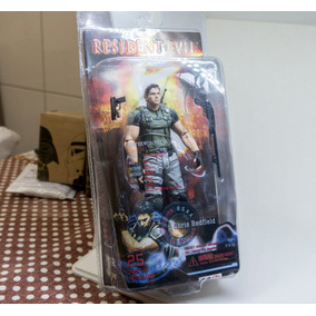 Boneco Resident Evil 5 Chris Redfield Actionstars Pvc Capcon