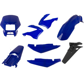Carenagem Bros 150 Azul 2006 Kit Completo