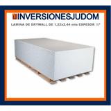 Laminas Drywall Medidas 1.22 X 2.44 Espesor 1/2 P/pared