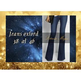 Jeans Oxford Mujer Calce Perfecto Directo De Fábrica.