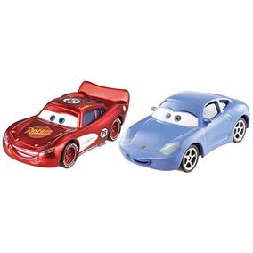 Sally E Relâmpago Mcquenn Cars Disney Pack C/ Dois Veículos