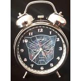 Reloj Despertador Transformers Autobot Optimus Prime