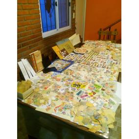 Lote Unico De Mas De 10.000 Estampillas Coleccion De Un Cura