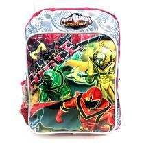 Mochila Espalda Power Rangers 12 - Jugueteria Aplausos