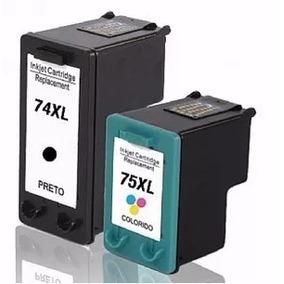 Kit 2 Cartucho 74xl 75xl Impressora C4480 C4280 J5780 C5280